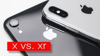 iPhone X vs iPhone XR - что выбрать?