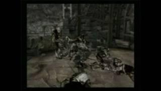 Forgotten Realms: Demon Stone PlayStation 2 Gameplay -