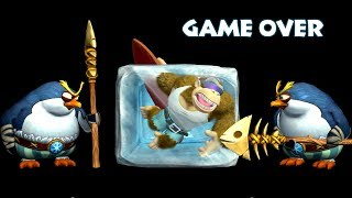 Donkey Kong Country: Tropical Freeze (Switch) - All Death & Game Over Animations