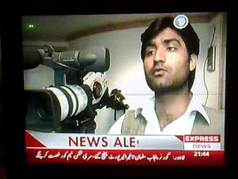 Brave Camera Man CNBC Pakistan Asif Shakeel