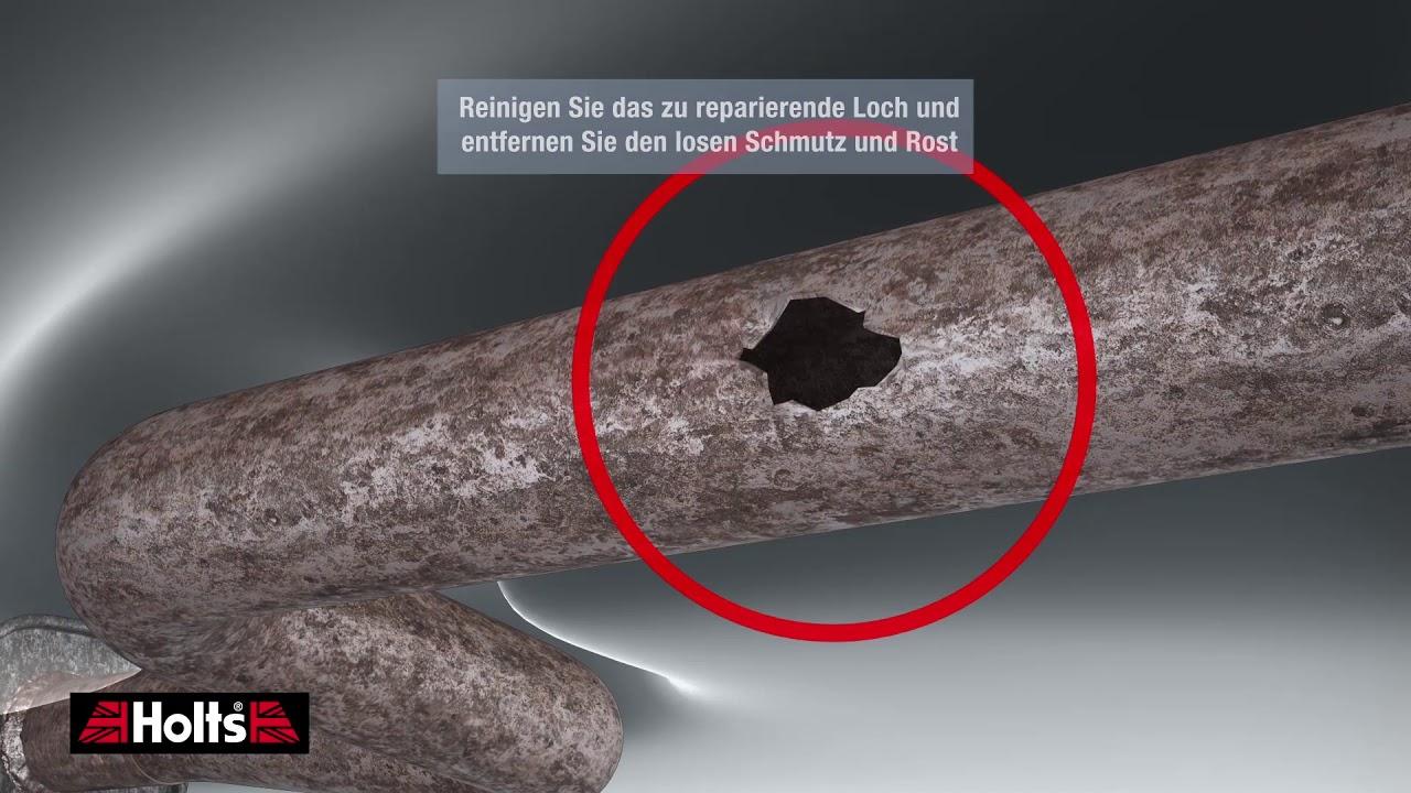 Holts Gun Gum Auspuffreparatur Schalldämpfer Reparatur Bandage 2,2m 204104