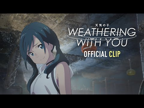 Weathering With You Official Clip 2 English Dub Gkids January 15 Youtube