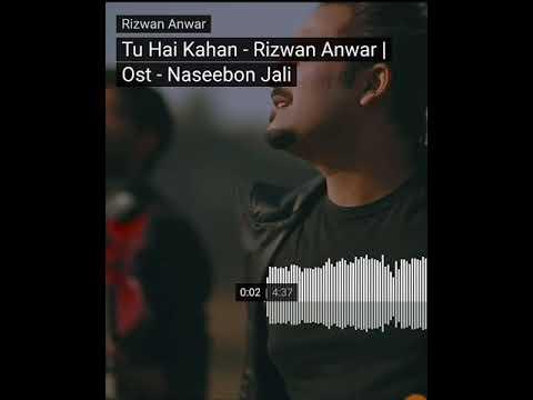 Tu hai kahan |Rizwan Anwar - OST Naseebon Jali drama song |