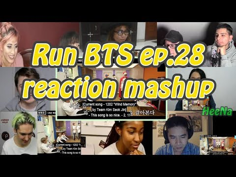[BTS] Run BTS 달려라 방탄 Ep.28|reaction Mashup