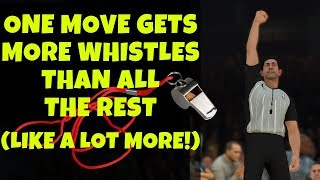 NBA 2K19 : This Move is #1 In Drawing Fouls! How To Draw More Shooting Fouls!! [Layup Tutorial]