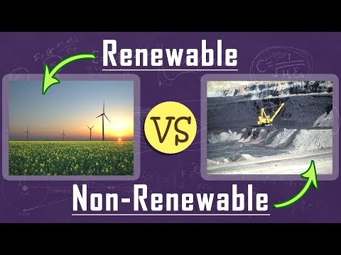 What is the Difference Between Renewable & Non renewable Resources | Natural Resources | Physics