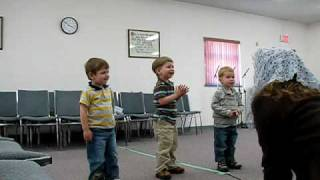 The Toddler Sunday School Class
