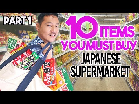 Buy These 10 Items At A Japanese Supermarket PART 1