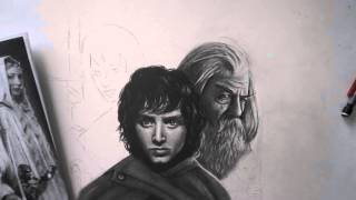 Lord of the Rings (SPEED DRAWING)