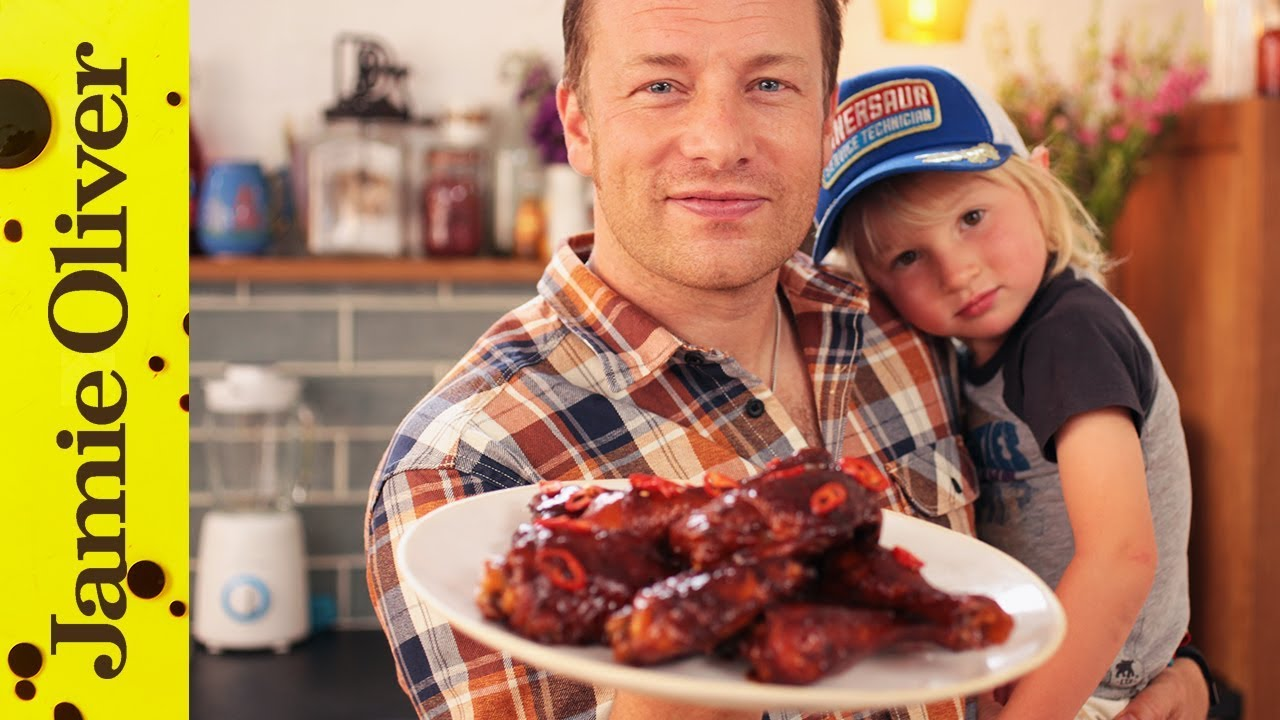 Jamies 5 Zutaten Küche Rezepte Chicken Wings The Best Bbq Sauce Jamie Buddy Oliver