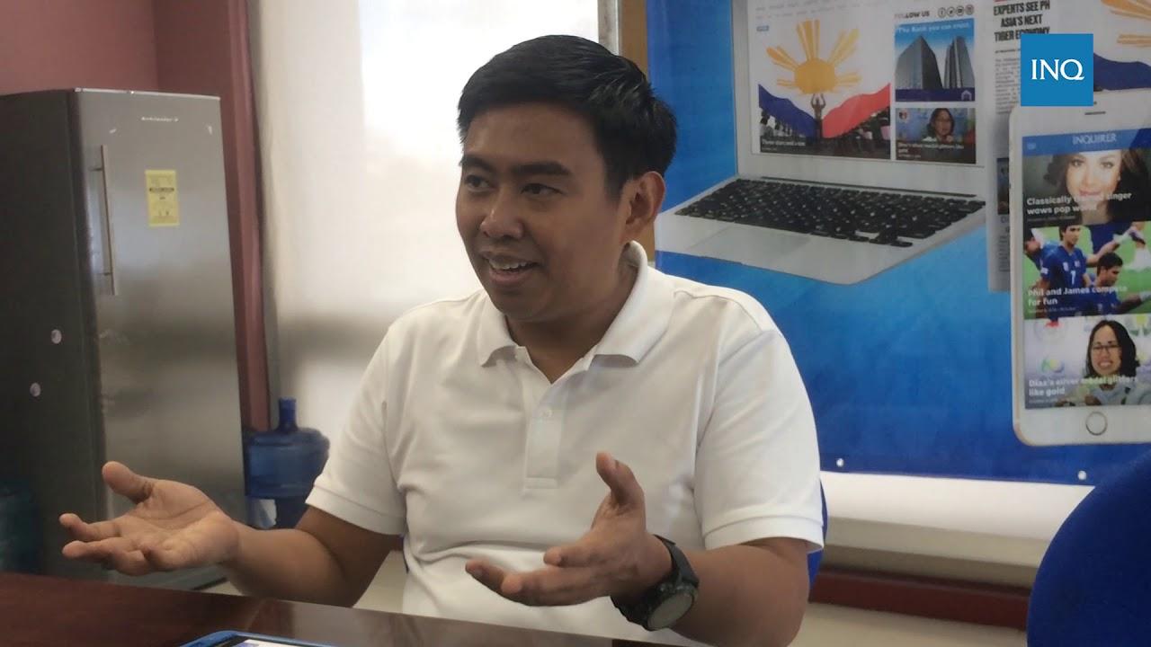 Jejomar Erwin Binay Jr . talks about bid for Makati mayoralty in 2019