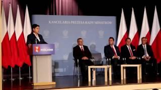 Premier Beata Szydło o Via Baltice