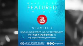 Get Your Video Featured in Aqua Sport Divers Youtube Channel
