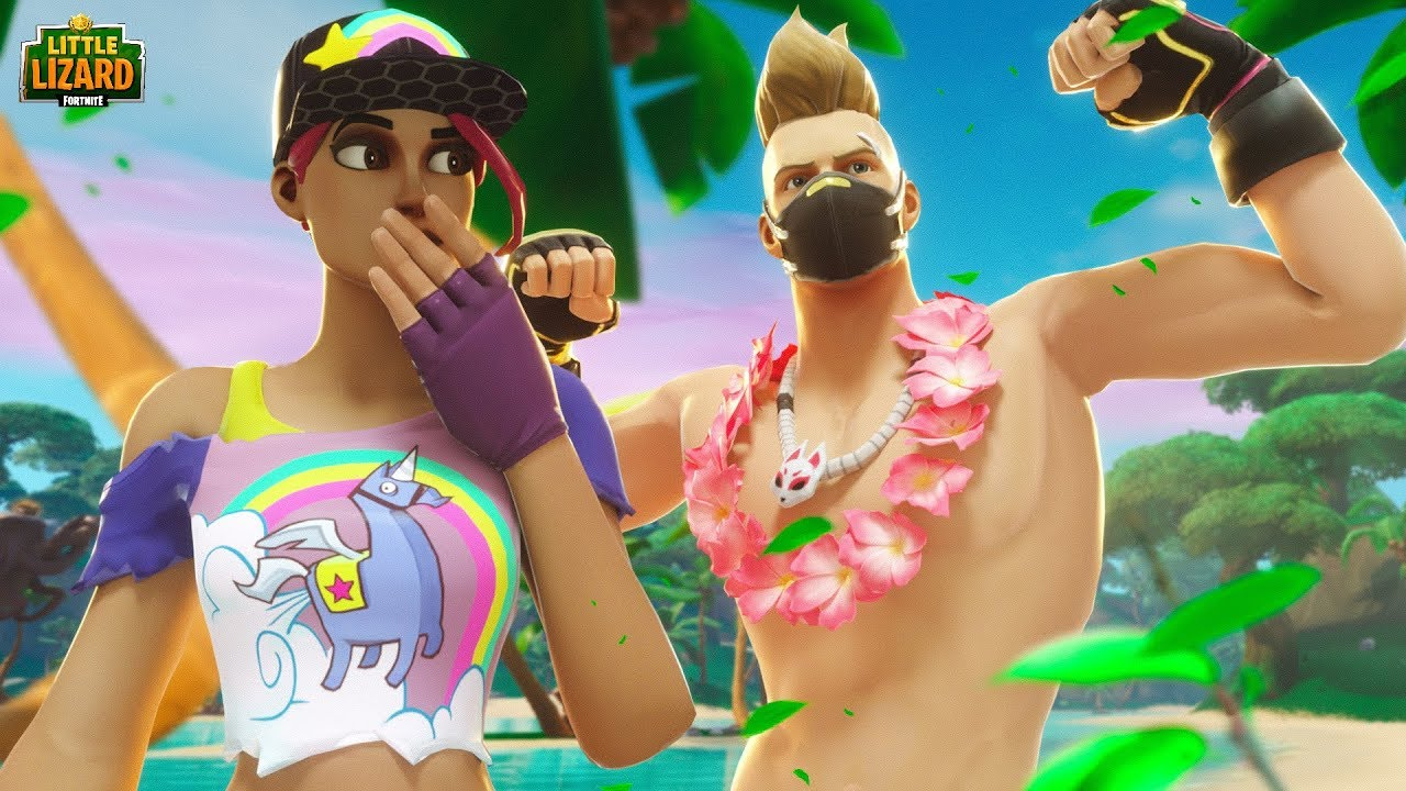 The Hottest Couple In Fortnite Youtube