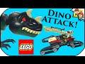 LEGO Dino Attack 7476 Iron Predator Vs T-Rex Review - BrickQueen