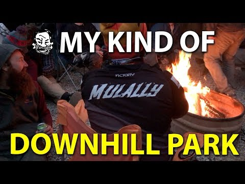 My kind of downhill mtb park! - Windrock is raw AF