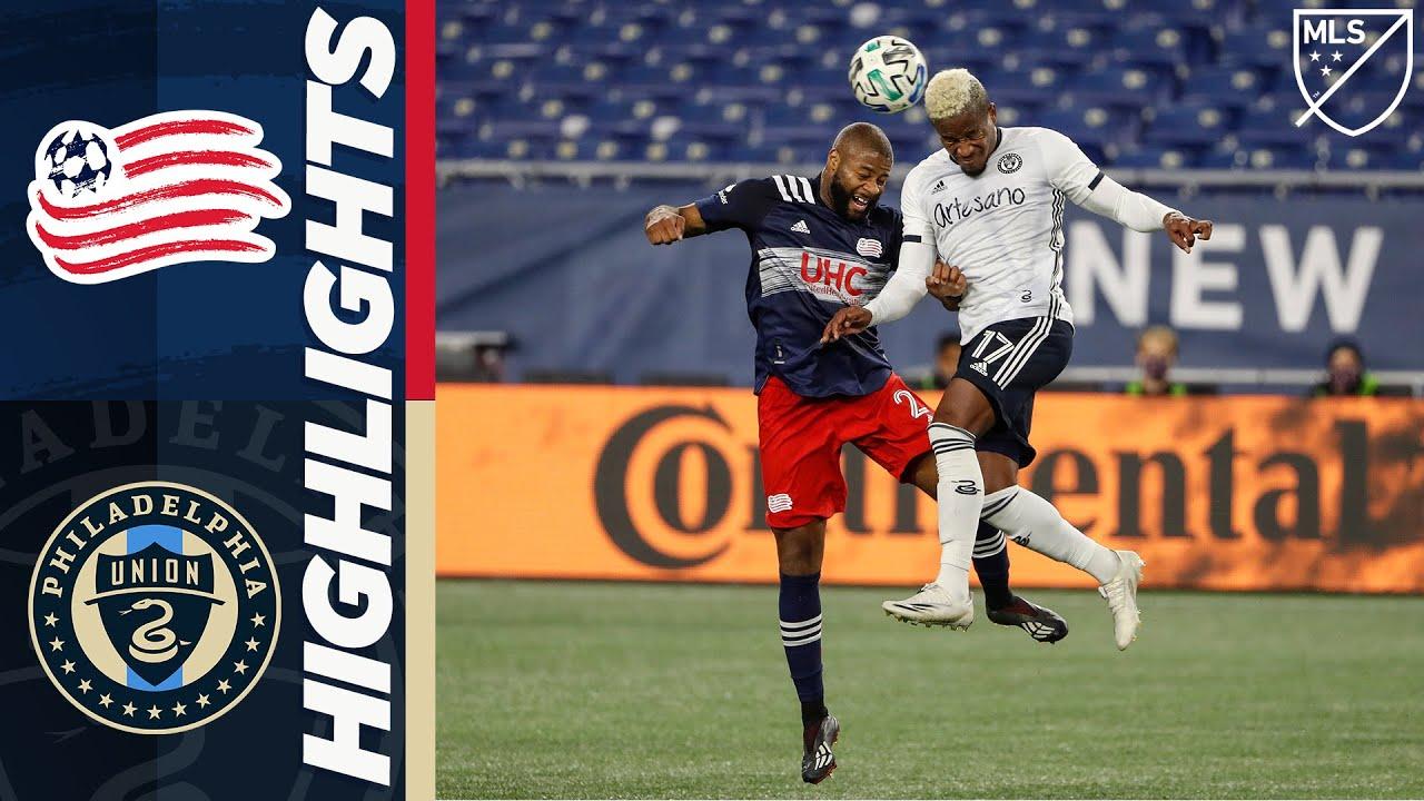 New England Revolution vs. Philadelphia Union   October 19, 2020   MLS Highlights