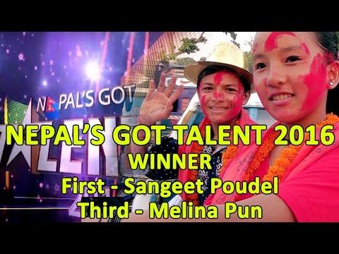NEPAL GOT TALENT 2016 WINNER || SANGEET POUDEL & MELINA PUN