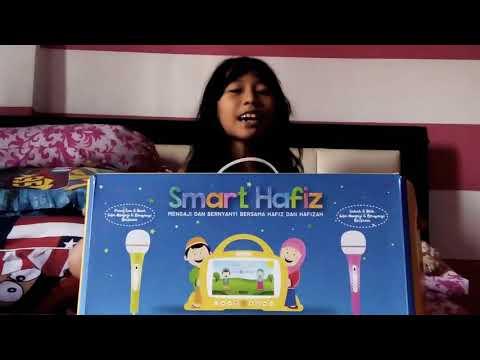 Smart Hafiz (Al-Qolam)  unboxing + music video official