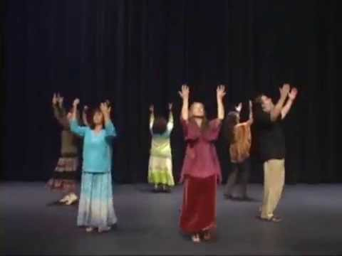Messianic Dance Blessed Are You, with steps From Teach Your Feet #6