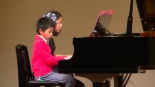 アシタカせっ記 もののけ姫 久石 譲 13歳 9歳 ピアノ連弾