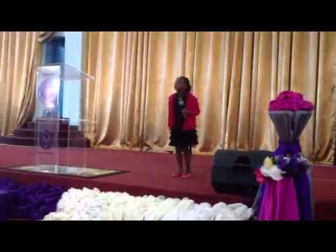 Dr Tawanda's daughter live on stage