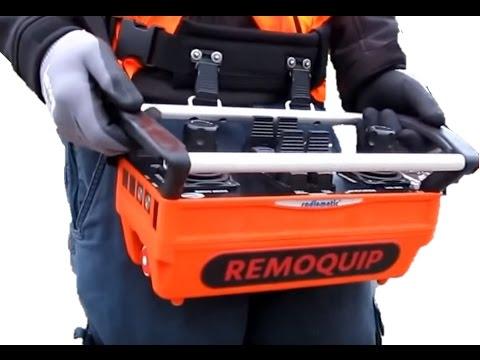 Hitachi Remote Control Excavator   Drivers View