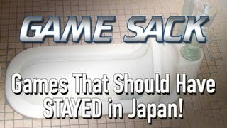 Game Sack - Genesis games that should have STAYED in Japan!