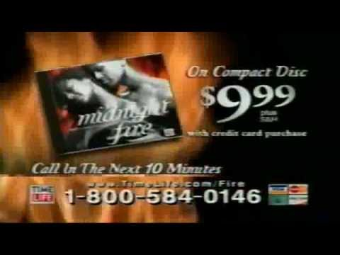 Time Life''s Midnight Fire CD Commercial