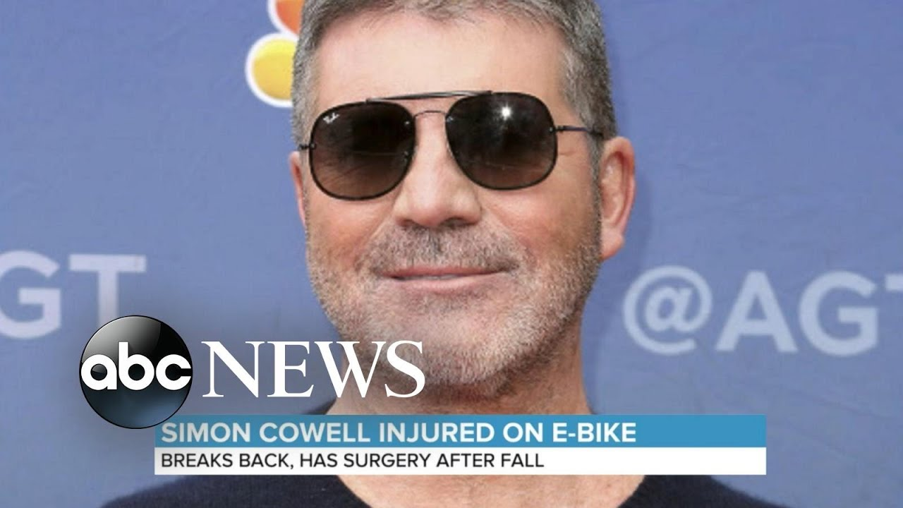 Simon Cowell Finally Returns To The UK After His Bike Accident