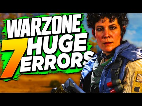 AVOID these 7 MISTAKES - How to Win More Warzone Solos! (Tips & Tricks)