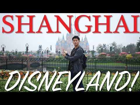 THINGS TO SEE AT SHANGHAI DISNEYLAND!