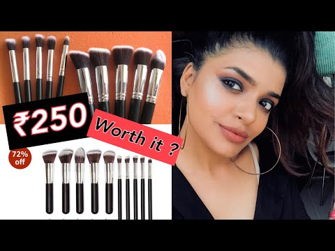 Affordable makeup brush set india