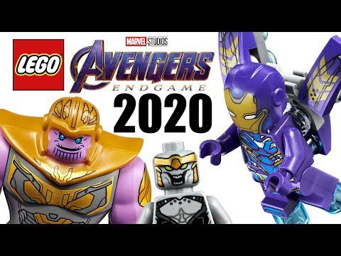 LEGO Avengers Endgame 2020 sets list - More RANDOM vehicles, yay. 😑