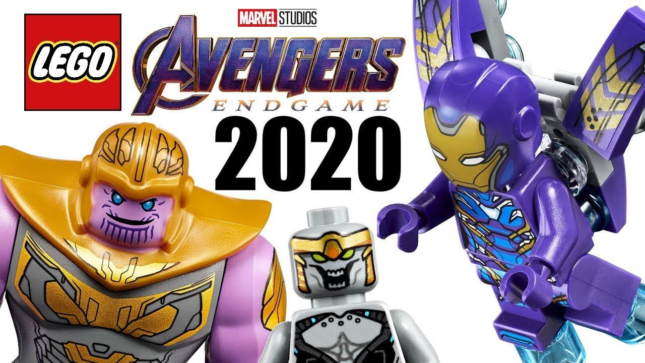 New Lego Marvel Sets 2020 LEGO Avengers Endgame 2020 sets list   More RANDOM vehicles, yay