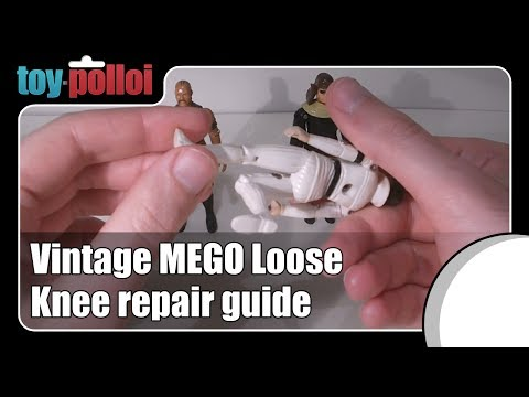 Fix it Guide - Mego and GI Joe loose knees