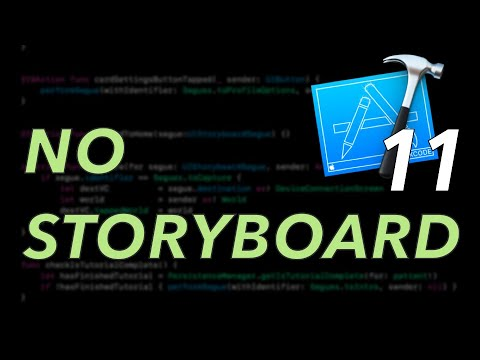 Xcode 11 - Create a New Project - No Storyboard thumbnail
