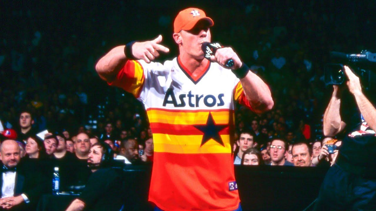 John Cena raps to the ring: Royal Rumble 2003