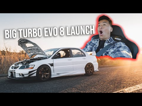 CRAZY 510WHP EVO 8 LAUNCH SCARES RANDY FROM ILLIMINATE *HILARIOUS REACTION*