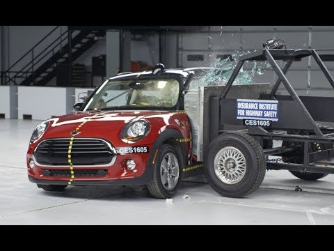 2016 Mini Cooper 2 Door Side Crash Test Extended Footage Youtube