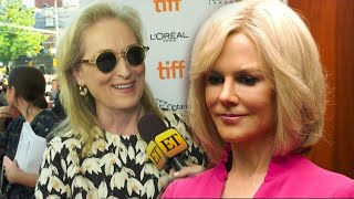 Meryl Streep on Convincing Nicole Kidman to Play Gretchen Carlson in 'Bombshell' (Exclusive)