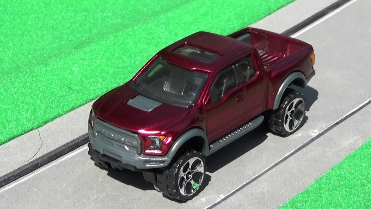 Custom Hot wheels '17 Ford F 150 Raptor - YouTube