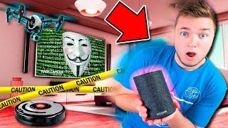 PROJECT ZORGO HACKED MY HOUSE & LEFT A MYSTERY!! Amazon Alexa Spying, Nerf Drone & More!