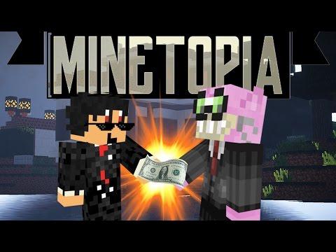 MINETOPIA - #76 - ZAKEN DOEN MET SUNNYVILLE!! - Minecraft Reallife Server