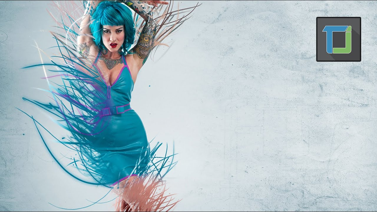 splatter effect in photoshop cs6 tutorial / disintegration ...