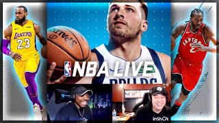 NBA LIVE MOBILE 20 ALL STAR DRAFT!! FT QJB & HEADACHE!!