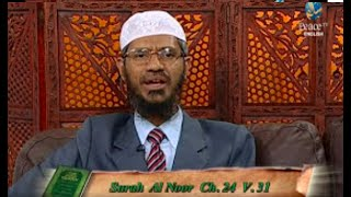 Covering the face of Women   Answered by Dr  Zakir Naik