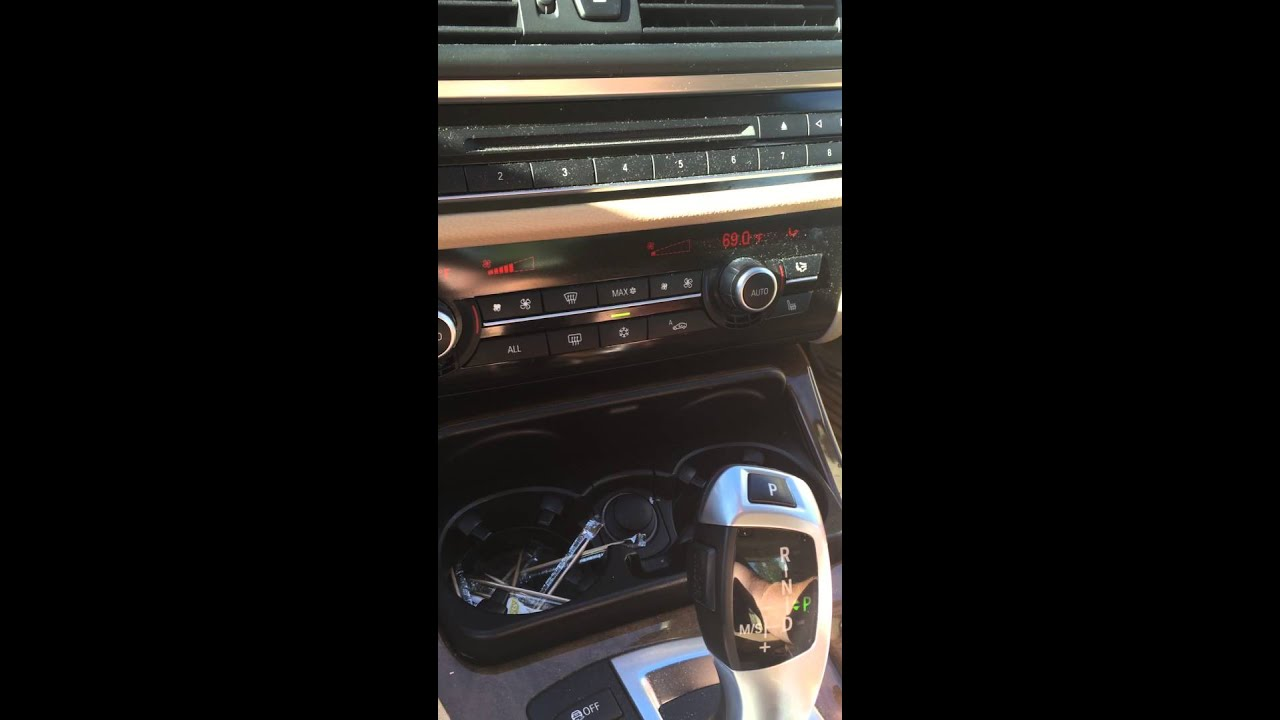 2011 BMW 535i park button malfunction
