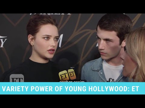 Katherine Langford e Dylan Minnette no Variety Power of Young Hollywood (LEGENDADO)