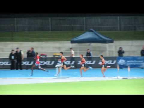 Ryan Gregson 1500M 3:38.51 Qantas Melbourne Track Classic 2/3/2012
